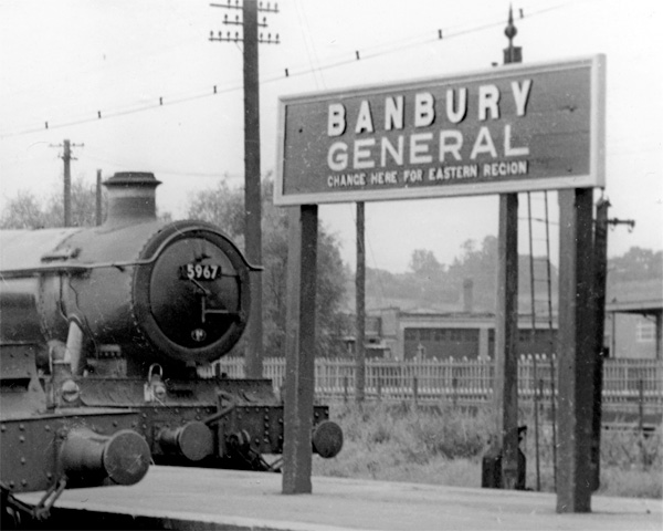 Banbury nameboard