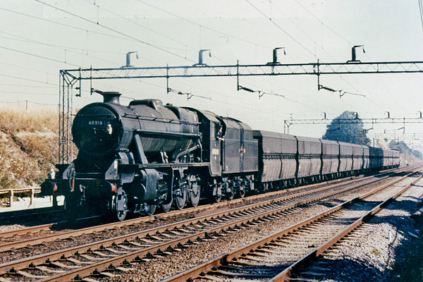 48018 with coal for Stonebridge Park
