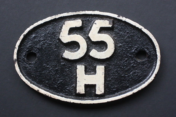 55H shed plate